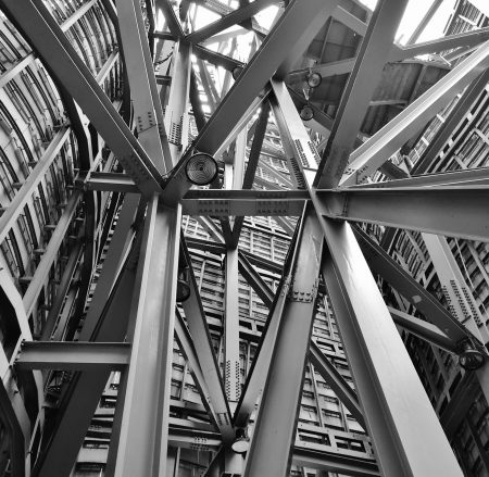 architecture-beams-black-and-white-53176